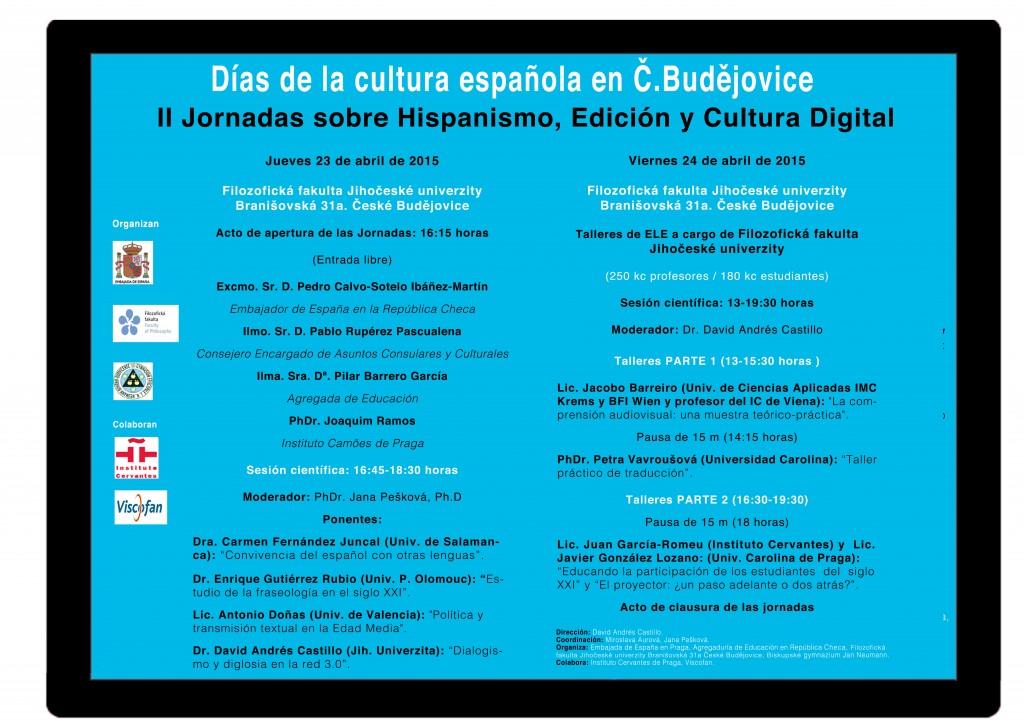 Días de la cultura española Ceske