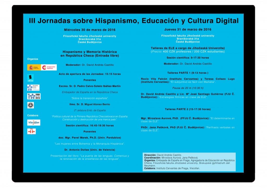 Días de la cultura española en Praga.Ceske