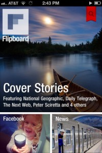 Flipboard en iPhone