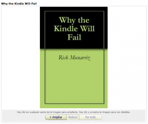 Why the Kindle Will Fail