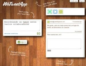 We Tweet App
