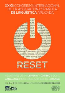 RESET - XXXII Congreso AESLA